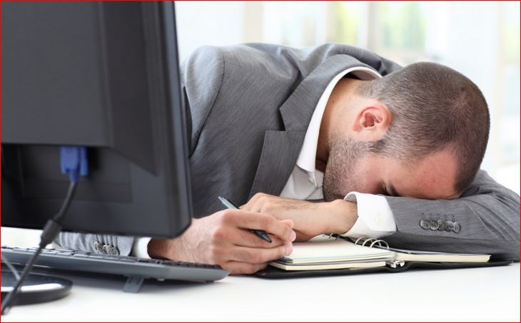 lenjost na poslu