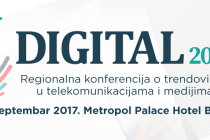 Digital 2017 – Regionalna konferencija o trendovima u telekomunikacijama i medijima